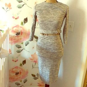 Dresses & Skirts - Two piece gray co-ord set w pencil skirt